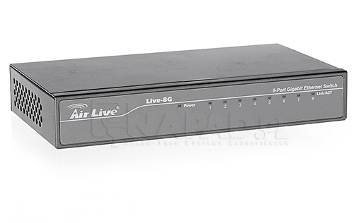 switch sieciowy poe airlive